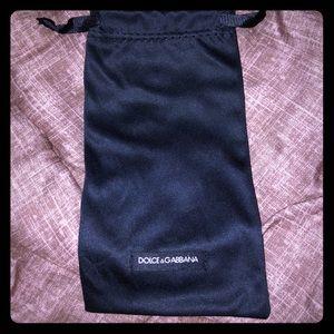 NWOT Authentic Dolce & Gabbana Sunglass pouch